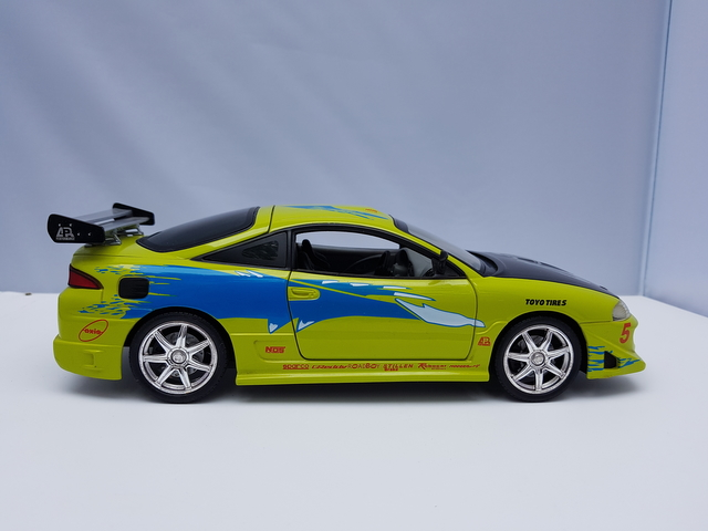 Mitsubishi Eclipse – Racing Champions