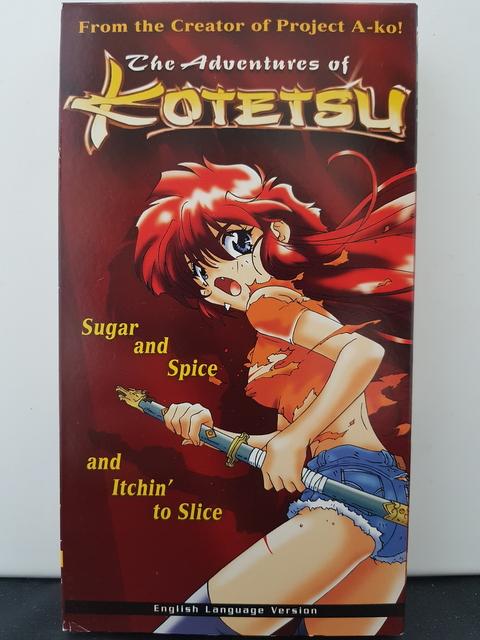 Kotetsu – ADV Films 1995