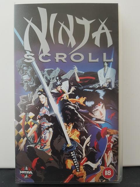 Ninja Scroll – Manga 1995
